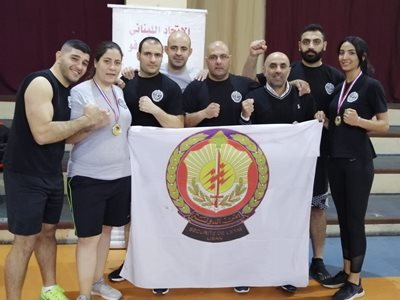 Martial Arts Team at State Security
